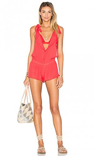 Ромпер vanesa Salt Swimwear. Цвет: красный