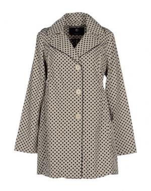 Легкое пальто [C] STUDIO. Цвет: бежевый