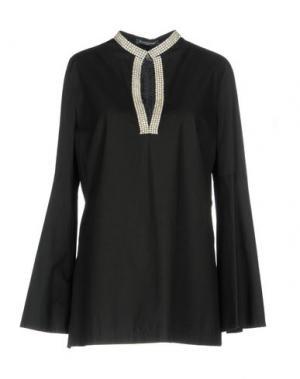 Блузка LA CAMICIA BIANCA. Цвет: черный