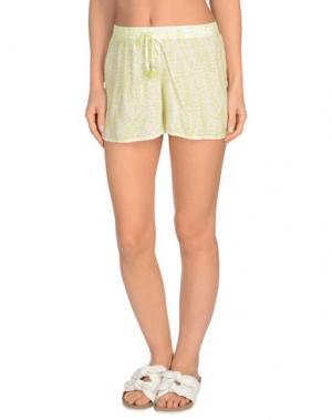 Пляжные брюки и шорты HEIDI KLEIN. Цвет: светло-зеленый