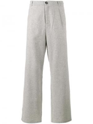 Широкие брюки Lot78. Цвет: серый