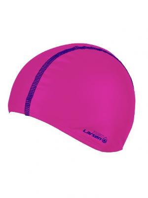 Шапочка для плавания Larsen. Цвет: синий, розовый