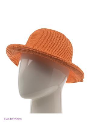 Шляпа Vittorio Richi. Цвет: оранжевый