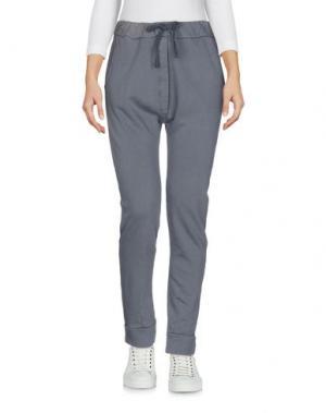 Повседневные брюки CROSSLEY. Цвет: свинцово-серый