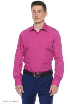 Рубашка Greg Horman. Цвет: малиновый