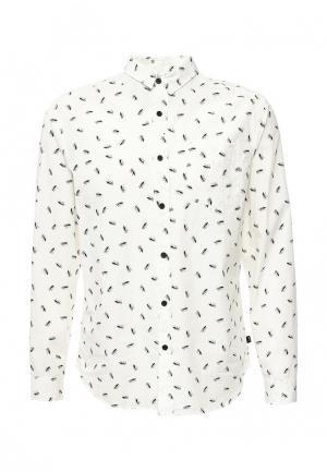 Рубашка Globe. Цвет: белый