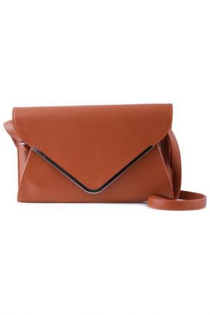 Клатч Vera bags. Цвет: коричневый