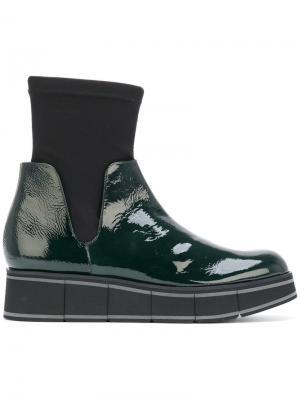 Ботинки по щиколотку Paloma Barceló. Цвет: зелёный