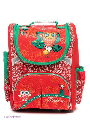 Рюкзак Polar. Цвет: красный, белый, зеленый