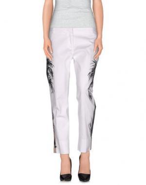 Повседневные брюки TERESA DAINELLI. Цвет: белый