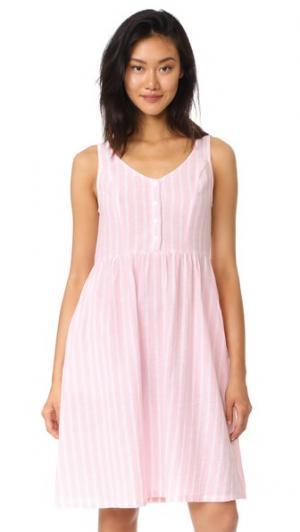 Длинное платье Amalfi RUKEN. Цвет: розовая полоса