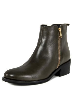 Ankle boots GIANNI GREGORI. Цвет: dark green