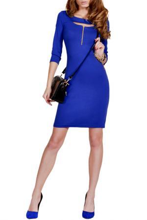 Платье FRANCESCA LUCINI. Цвет: ярко-синий