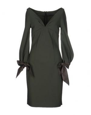 Платье до колена GRETA CONSTANTINE. Цвет: зеленый-милитари