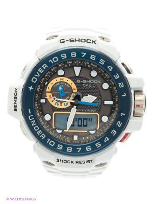 Часы G-SHOCK GWN-1000E-8A CASIO. Цвет: белый