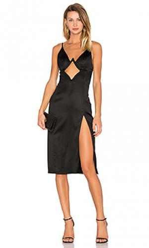 Платье james NBD. Цвет: черный