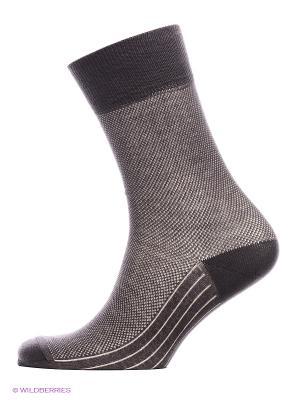 Носки, комплект 5 пар Uomo Fiero. Цвет: коричневый