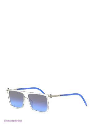 Солнцезащитные очки MARC JACOBS. Цвет: прозрачный, черный