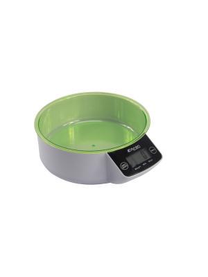 Весы куханные, чаша ELTRON. Цвет: зеленый