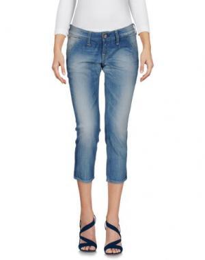 Джинсовые брюки-капри NOLITA DE NIMES. Цвет: синий