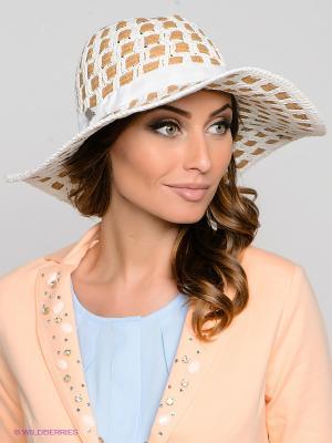 Шляпа SEEBERGER. Цвет: коричневый, молочный