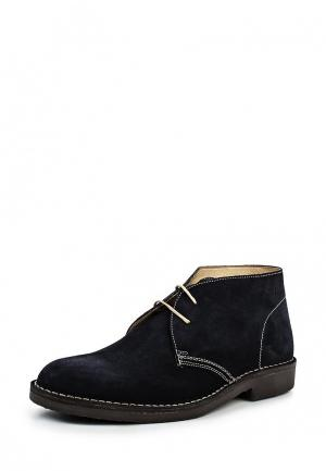 Ботинки Loake. Цвет: синий