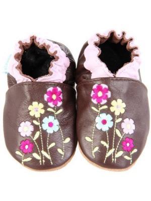 Ботинки MaLeK BaBy. Цвет: коричневый, лиловый