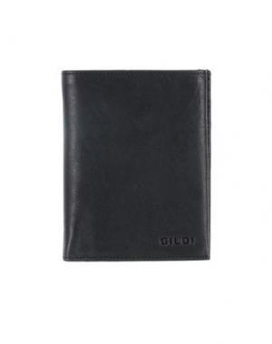 Бумажник GIUDI. Цвет: черный