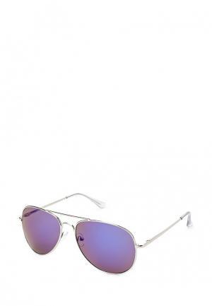Очки солнцезащитные Modis. Цвет: серебряный