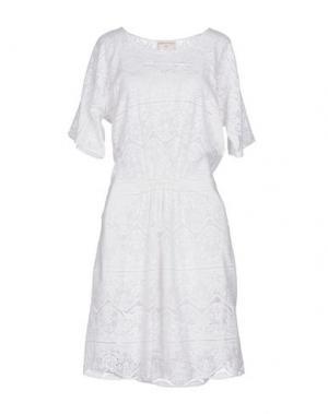 Платье до колена SONIA DE NISCO. Цвет: белый