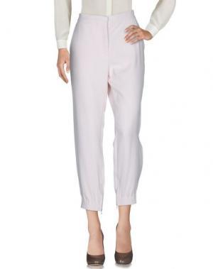 Повседневные брюки VANESSA BRUNO. Цвет: светло-розовый