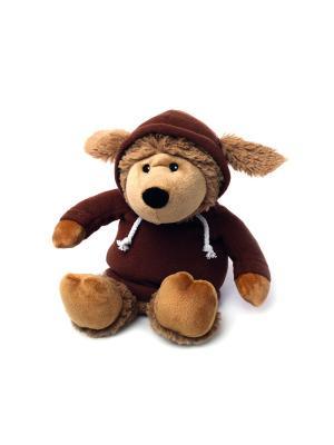 Игрушка-грелка Овечка в худи коричневая Warmies. Цвет: коричневый