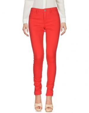 Повседневные брюки JACQUELINE de YONG. Цвет: красный