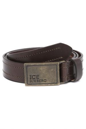 Ремень Ice Iceberg. Цвет: коричневый