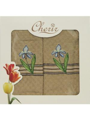 Набор полотенец для кухни - 2шт. (38*64) Dorothy's Home. Цвет: коричневый