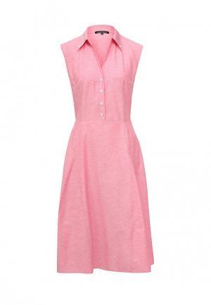 Платье Gregory. Цвет: розовый