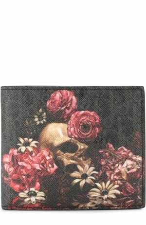 Портмоне с отделениями для кредитных карт и монет Dior. Цвет: темно-серый
