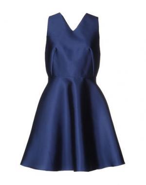Короткое платье TARA JARMON. Цвет: синий