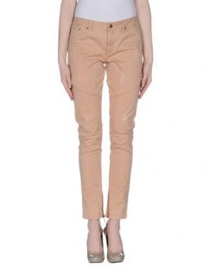 Повседневные брюки INTROPIA. Цвет: телесный