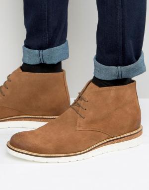 Dead Vintage Ботинки на шнуровке. Цвет: рыжий