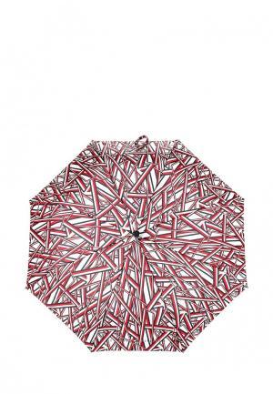 Зонт складной Tommy Hilfiger. Цвет: разноцветный