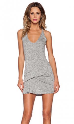Платье winnie Riller & Fount. Цвет: серый
