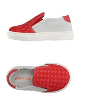 Низкие кеды и кроссовки JARRETT. Цвет: красный