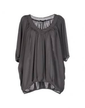 Блузка AXARA PARIS. Цвет: свинцово-серый