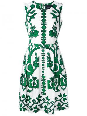 Платье Rachel Samantha Sung. Цвет: белый