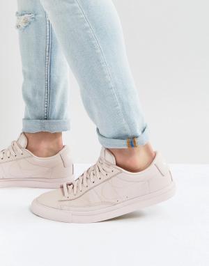 Nike Розовые низкие кеды Blazer 371760-605. Цвет: розовый