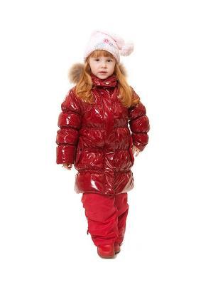 Пальто VELFI. Цвет: красный