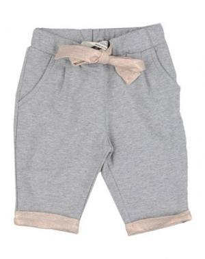 Повседневные брюки LE PETIT COCO. Цвет: серый