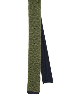 Галстук MONDIGO. Цвет: темно-синий, зеленый, оливковый