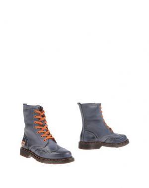 Полусапоги и высокие ботинки D'ACQUASPARTA. Цвет: грифельно-синий